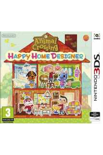 Animal Crossing Happy Home Designer+карта [3DS]