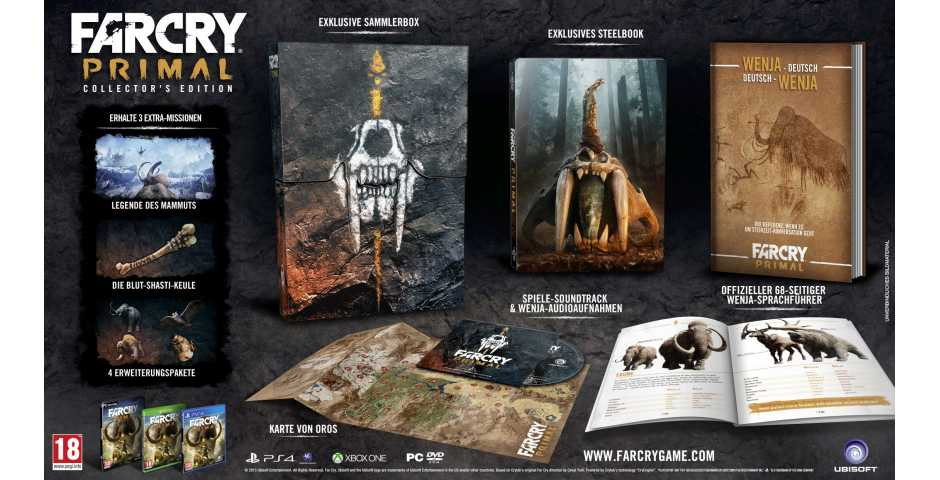 Far Cry Primal Collectors Edition [PS4]