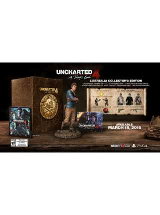 Uncharted 4: Путь Вора Libertalia Collectors Edition [PS4]