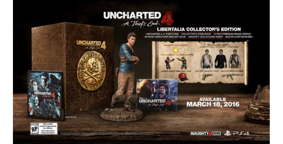 Uncharted 4: Путь Вора Libertalia Collectors Edition