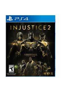 Injustice 2. Legendary Edition [PS4, русские субтитры]