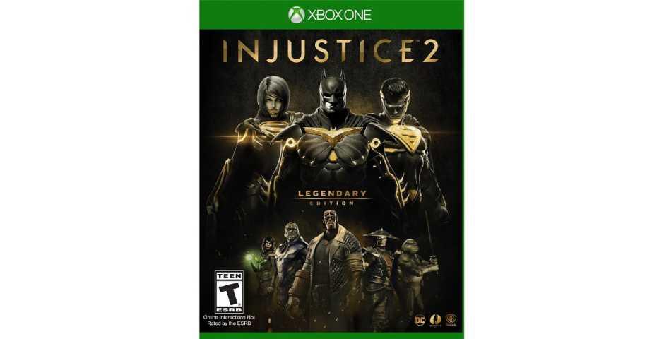Injustice 2. Legendary Edition [Xbox One, русские субтитры]