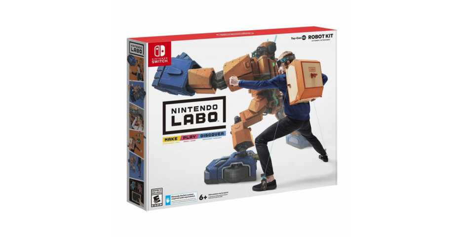 Nintendo Labo: набор Робот