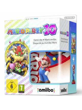 Комплект игра Mario Party 10 + Amiibo: Super Mario  [WiiU]