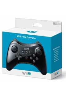 Контроллер Wii U Pro Controller Черный [Wii U]