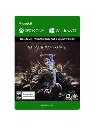 Middle-earth: Shadow of War [Цифровой код,Xbox One]