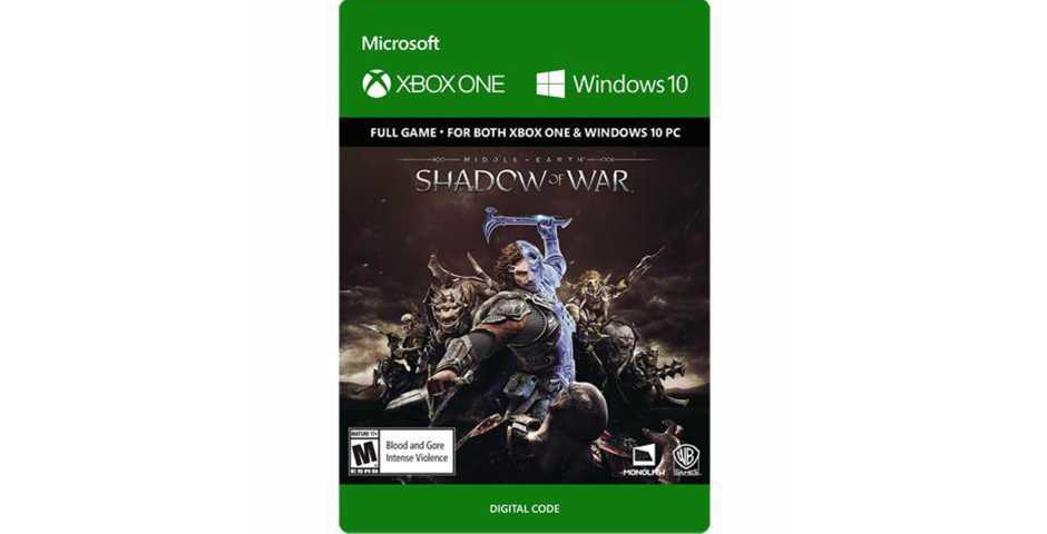 Xbox One - Middle-earth: Shadow of War [Цифровой код,Xbox One]