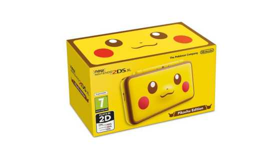 Nintendo New 3DS и 2DS - New Nintendo 2DS XL Pikachu Edition. Ограниченное издание.