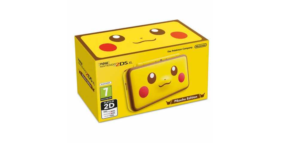 Nintendo New 3DS и 2DS - New Nintendo 2DS XL Pikachu Edition. Ограниченное издание.