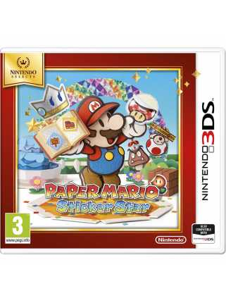 Paper Mario Sticker Star (Nintendo Selects) [3DS]