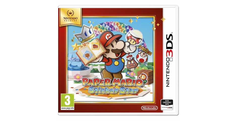 Paper Mario Sticker Star [3DS]