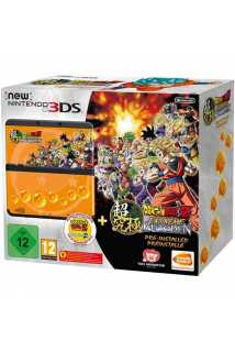 New Nintendo 3DS Black (Черный) + Игра Dragon Ball Z: Extreme Butoden