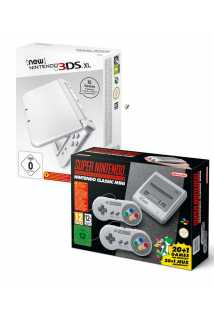 New Nintendo 3DS XL + SNES