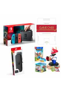 Nintendo Switch Mario Rabbids Bundle