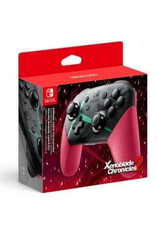 Контроллер Nintendo Switch Pro Controller в стиле Xenoblade Chronicles 2
