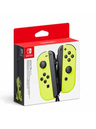 Nintendo Switch - Joy-Con (L/R)-Neon Yellow