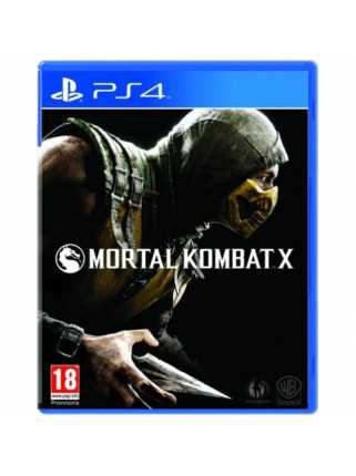 Mortal Kombat X [PS4, русская версия]