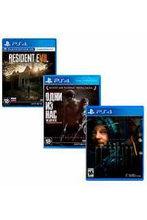 Resident Evil 7 + Одни из нас: Обновленная версия + Death Stranding
