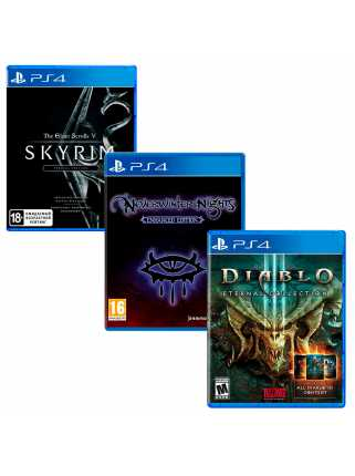 TES V: Skyrim - Special + Neverwinter Nights: Enhanced + Diablo III: Eternal Collection