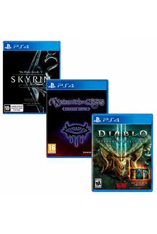 TES V: Skyrim - Special + Neverwinter Nights: Enhanced + Diablo III: Eternal Collection