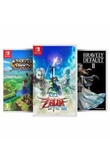Bravely Default II + Harvest Moon: One World + The Legend of Zelda: Skyward Sword HD