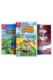 Harvest Moon: One World + Animal Crossing: New Horizons + Balan Wonderworld