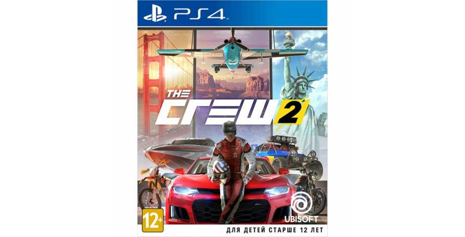 The Crew 2 [PS4, русская версия] Trade-in | Б/У