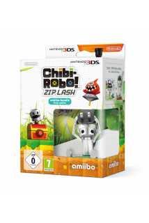 Chibi Robo Zip Lash + Chibi Robo amiibo [3DS]