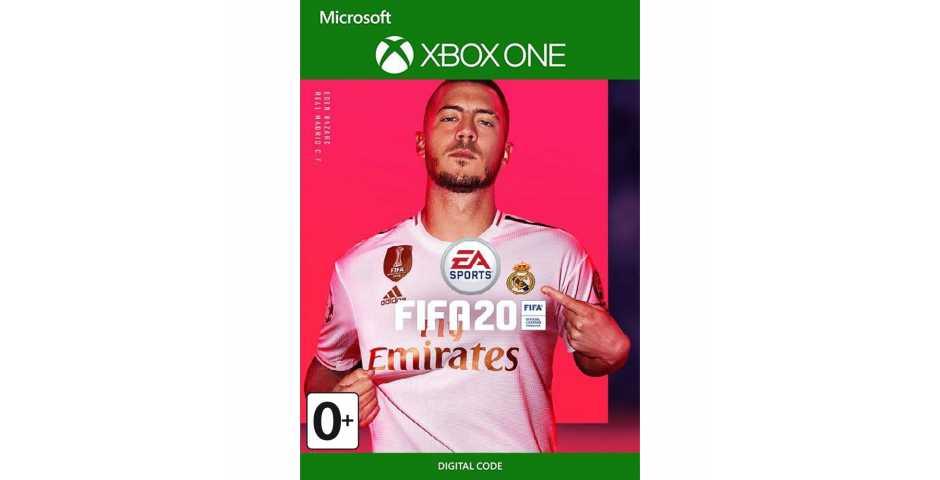 FIFA 20 (Код) [Xbox One, русская версия]