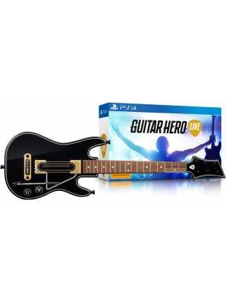 Guitar Hero Live Bundle (Гитара + игра) [PS4]