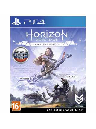Horizon: Zero Dawn Complete Edition [PS4]