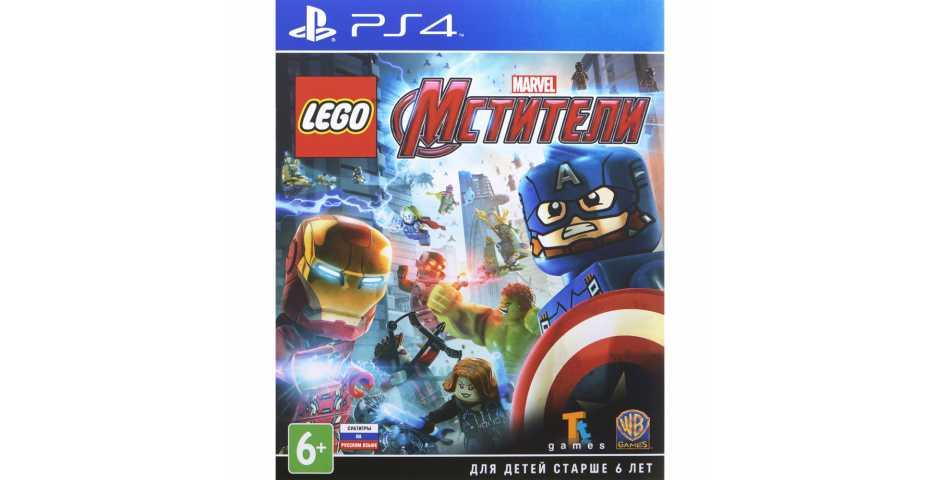 LEGO Marvel Мстители [PS4] Trade-in | Б/У