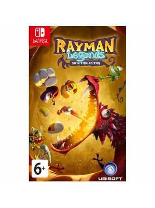 Rayman Legends: Definitive Edition [Switch, русская версия]