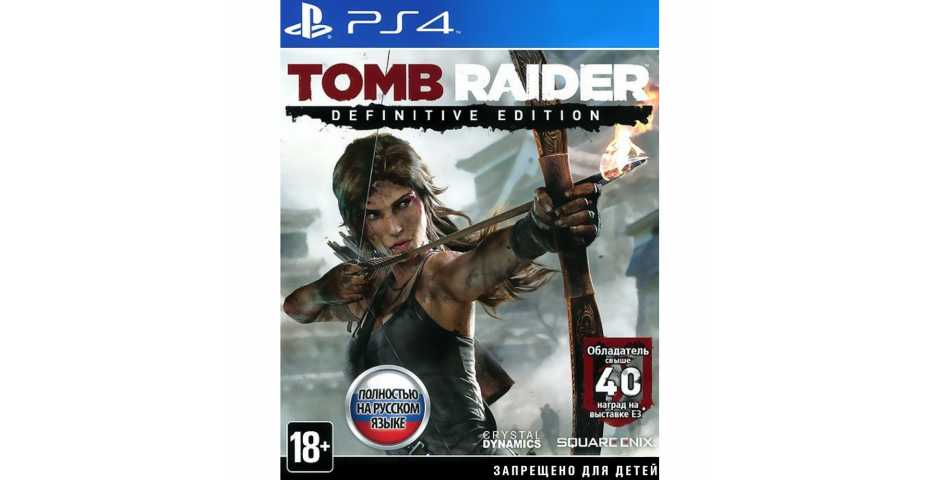 Tomb Raider: Definitive Edition [PS4, русская версия] Trade-in | Б/У