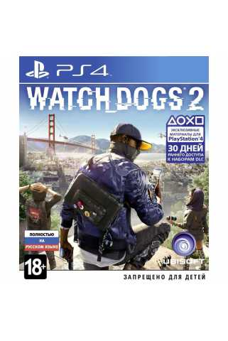 Watch Dogs 2 [PS4, русская версия] Trade-in | Б/У