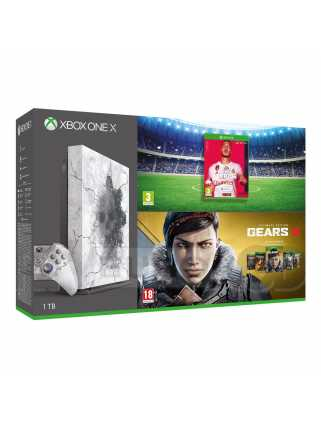 Xbox One X 1TB Gears 5 Limited Edition + FIFA 20