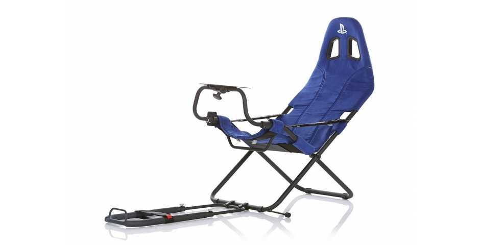 Кресло Playseat Challenge Playstation Edition (Синее)