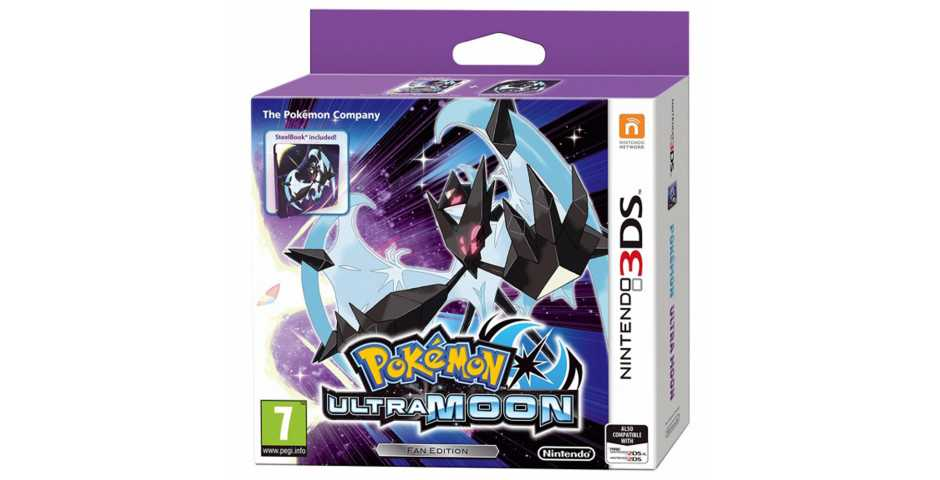 - Pokemon Ultra Moon. Limited Edition. [3DS]