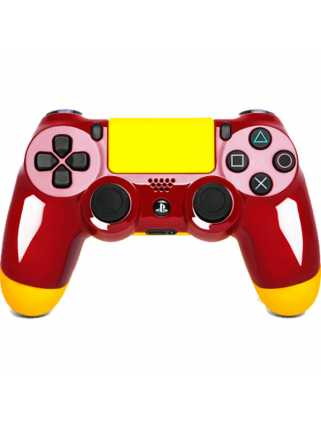 "Rainbo Геймпад Dualshock 4 ""Быстрый и Красный"""