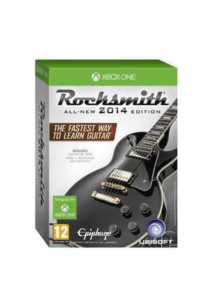 Rocksmith 2014 Edition (Игра + Кабель для подсоединения гитары) [Xbox One]