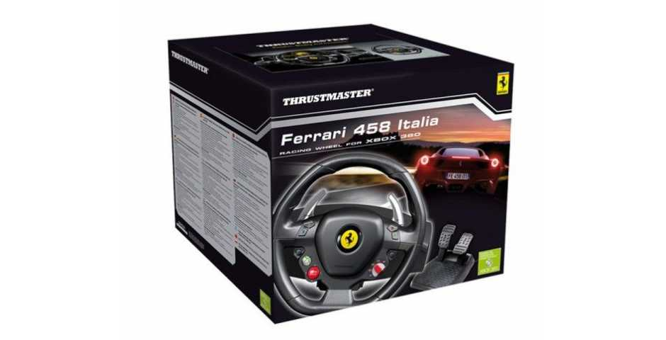 Руль Thrustmaster Ferrari 458 Italia [Xbox 360]