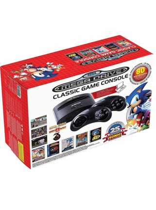 Sega Mega Drive Classic Game Console с 80 играми