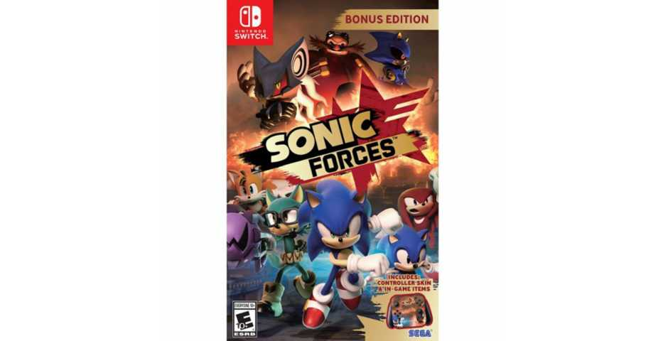 Nintendo - Sonic Forces Bonus Edition [Switch]