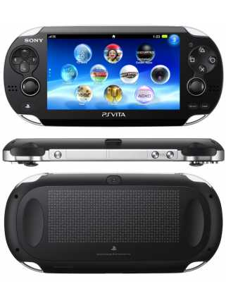 Sony PlayStation Vita  Wi-Fi + 3G Black