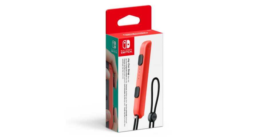 Nintendo Switch - Joy-Con Strap (L/R)-Red