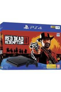 PlayStation 4 Slim 1TB + Red Dead Redemption 2