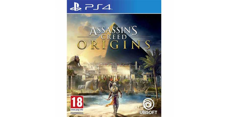 Assassin's Creed: Истоки (Origins) Английская версия [PS4]