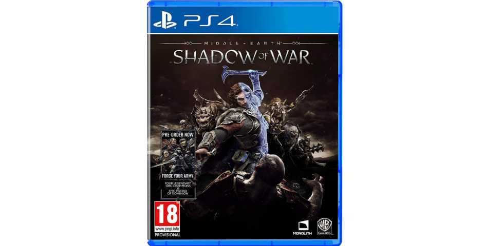 Middle-earth: Shadow of War [PS4]