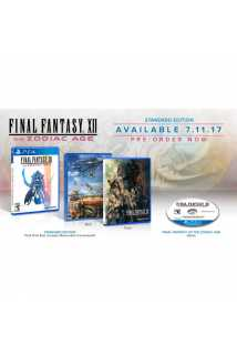 Final Fantasy XII The Zodiac Age Limited Steelbook Edition [PS4]