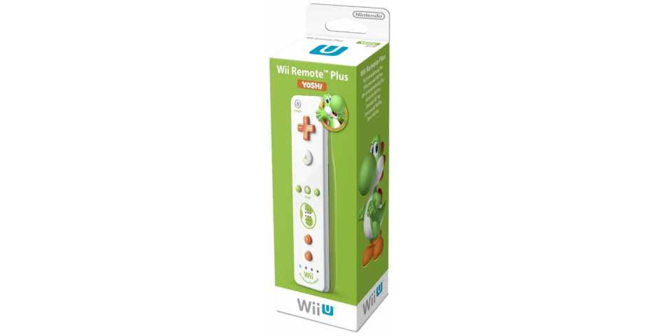 Контроллер Remote Plus Yoshi (со встроенным Wii Motion)